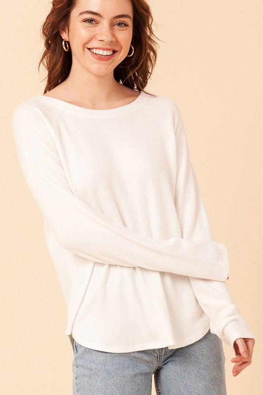 Isabella Top - White
