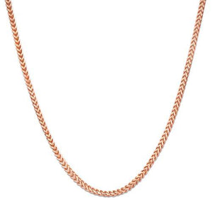 "18"" SINGAPORE FOXTAIL CHAIN IN 14K GOLD"