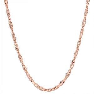 "16"" 1.5MM SINGAPORE CHAIN IN 14K GOLD"