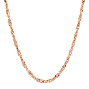 "20"" 1.5MM SINGAPORE CHAIN IN 14K GOLD"