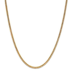 "16"" SINGAPORE FOXTAIL CHAIN IN 14K GOLD"