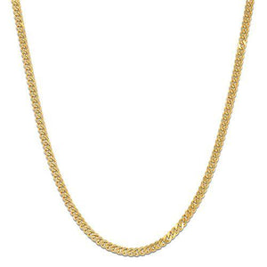 "18"" 1.5MM GOURMETTE CHAIN IN 14K GOLD"