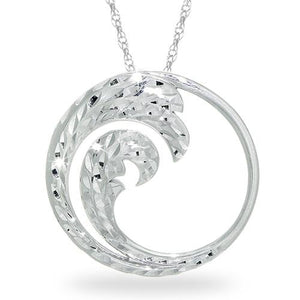 Nalu Necklace in Sterling Silver - 30mm