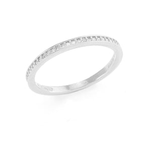 Diamond Anniversary Ring in 14K White Gold 088-01143