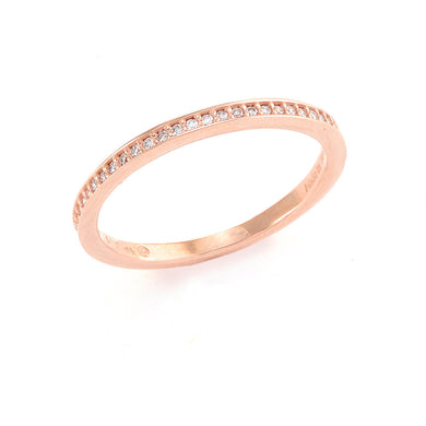 Diamond Anniversary Ring in 14K Rose Gold 088-01144