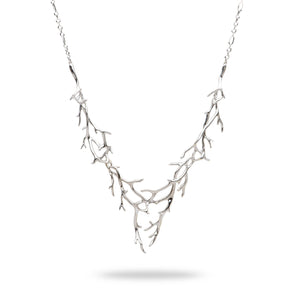 Hawaiian Heritage Necklace in 14K White Gold