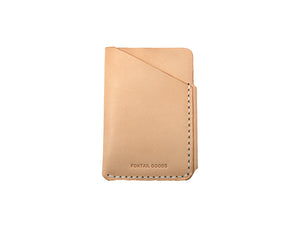 **LAST ONE** Minimal Card Holder - Brown
