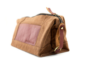 Toiletry Dopp Kit - Foxtail Goods [handmade leather and waxed canvas goods], [california], [camping gear], [commuting bag], [travel bag]
