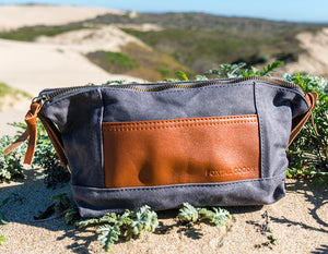 Toiletry Dopp Kit in Cement