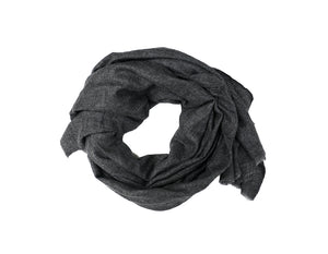 Cashmere Scarf Charcoal Grey