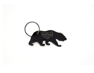 Grizzly Bear Keychain Bottle Opener