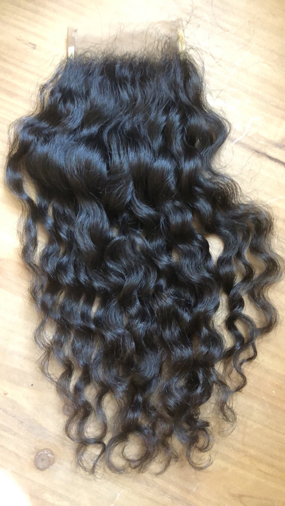 Virgin Natural Curly Closure