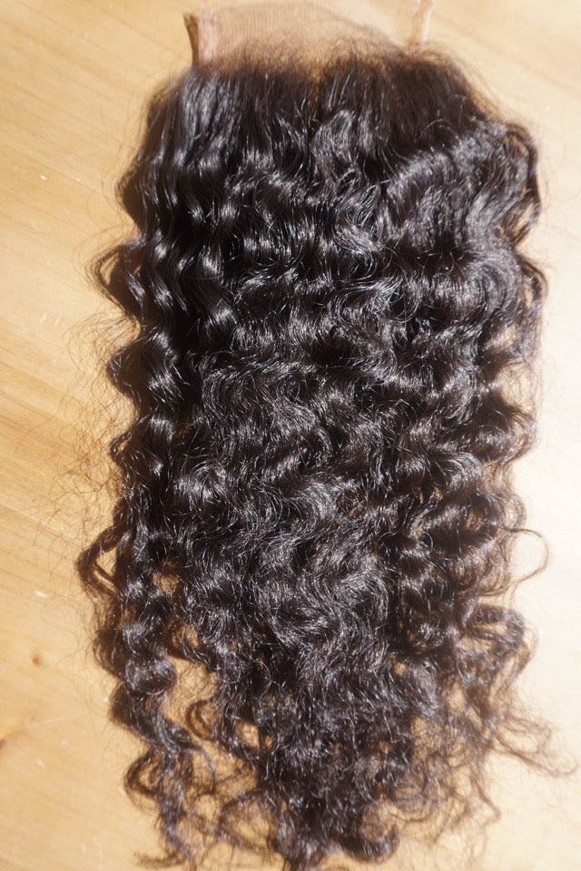 Bohemian Curly Closure