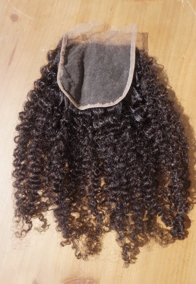 Afro Plush Closure