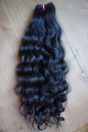 100% VIRGIN NATURAL CURLY