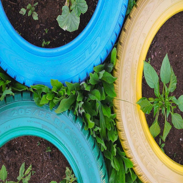 How to Make a Beautiful Planter From Old Tires