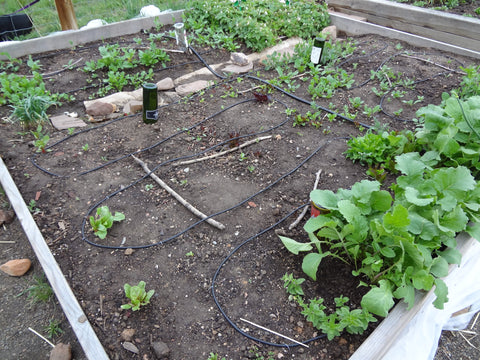 Will a drip irrigation system fit in my garden?
