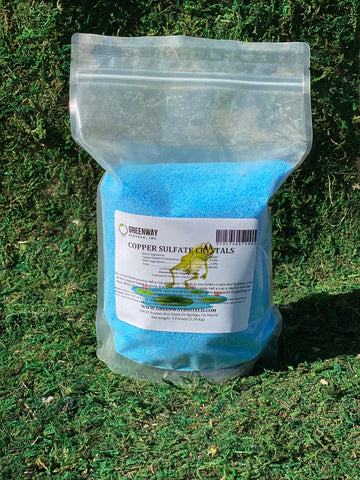 Copper Sulfate Crystals for Fungicide Spray
