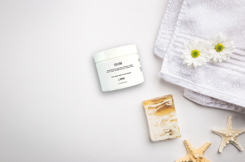 Solene foot cream for cracked and dry feet