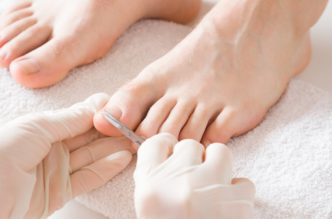 At home pedicure for ingrown toe nails