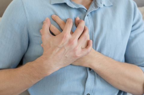 chest pain for high blood pressure symptoms