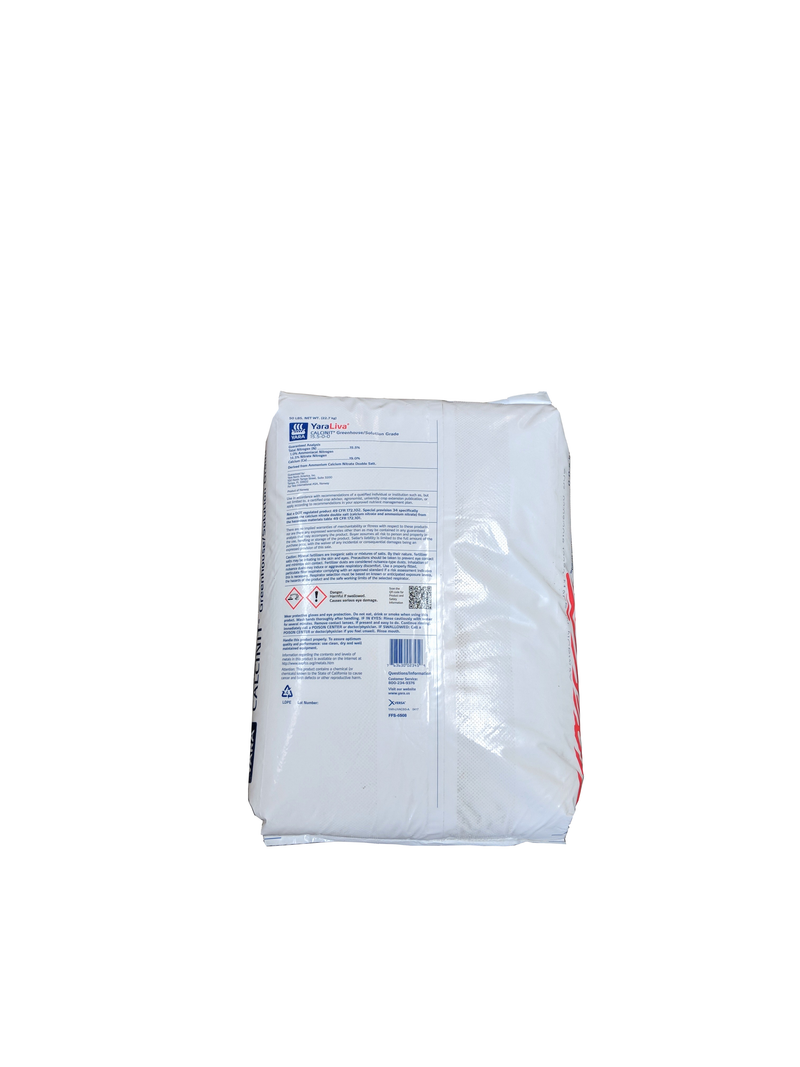Ammonium Calcium Nitrate Fertilizer 15.5-0-0 50 Pounds