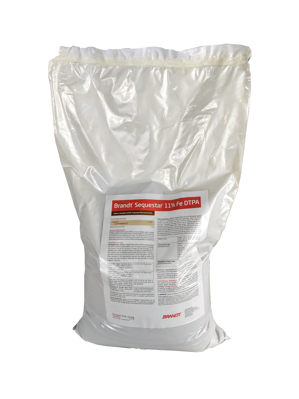 Chelated Iron DTPA 11% Iron 25 Pounds