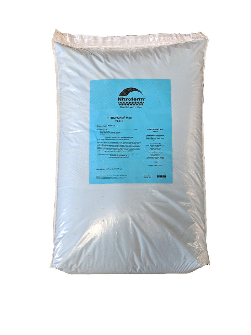 Nitrofrom Fertilizer 39-0-0 Slow Release Nitrogen Fertilizer 50 Pounds