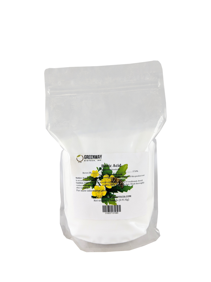 Organic Boric Acid Powder 2 Pounds