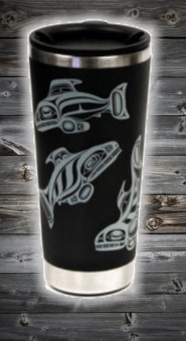 Double Walled Stainless Travel Mug - Enduring Spirits