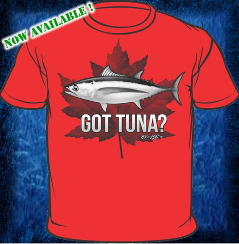Got Tuna? - Red Short Sleeve Cotton Shirt