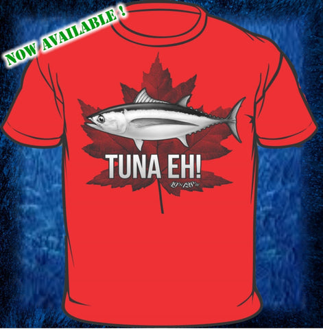 Tuna Eh! - Red Short Sleeve Cotton Shirt
