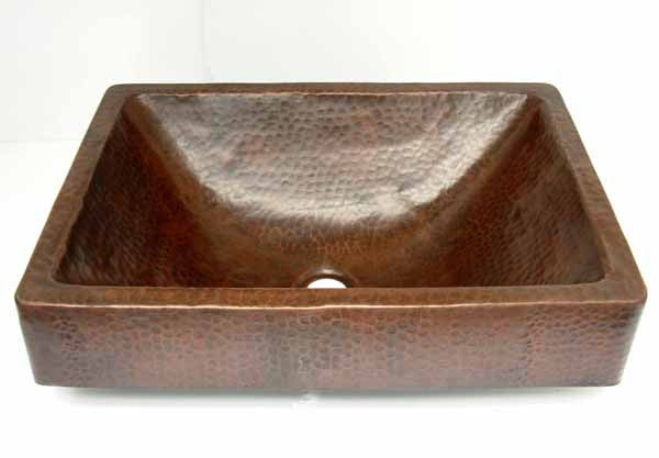 Gorgeous Above Inset Copper sink CS-0128