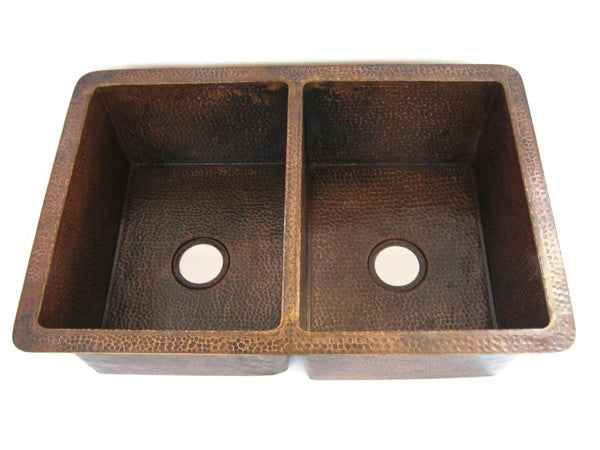 Copper Kitchen Sinks – Mexican Copper