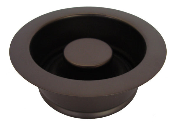 Garbage disposal drain oil rubbed bronze