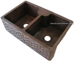 Farmhouse Kitchen sink double bowl CS-0182