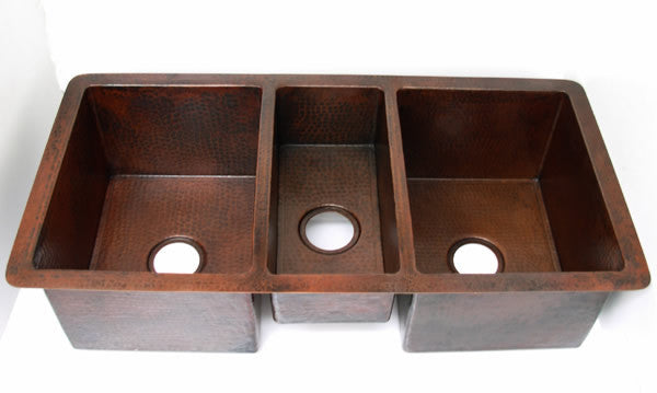 Triple Bowl Undermount Kitchen Sink Model CS 0146