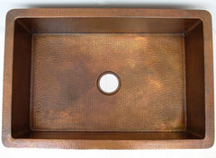 Apron Copper Sink