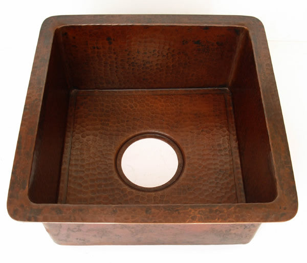 Weathered Copper Sinks