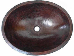 Oval Copper Sink