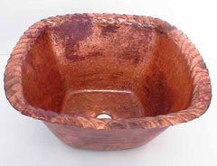 Copper Bar Sinks w/ Rope Design
