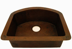 Single bowl Undermount art deco sink CS-0170
