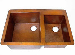 Double Copper Kitchen sink Model CS-0123
