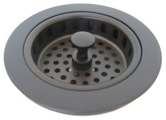 "Kitchen strainer basquet drain 3.5"" Oil Rubbed bronze"