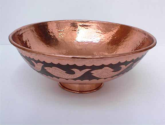 Above Counter, Copper Vessel Sinks