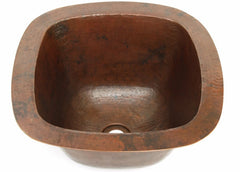 Weathered Copper Bar Sink