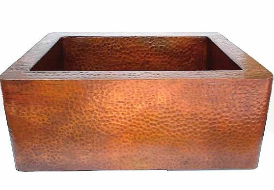 Apron Farmhouse Sink Farmhouse Copper Sink CS-0062