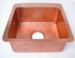 Copper Kitchen Sinks - Sink Basin