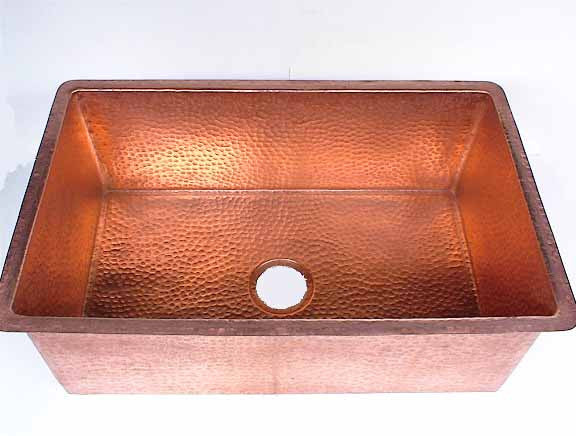 Large Copper Kitchen Sink