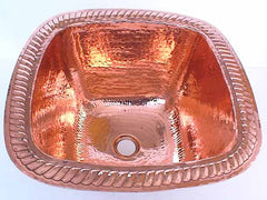 Shiny Copper Bar Sinks